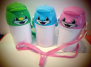 Bidones personalizados para niños