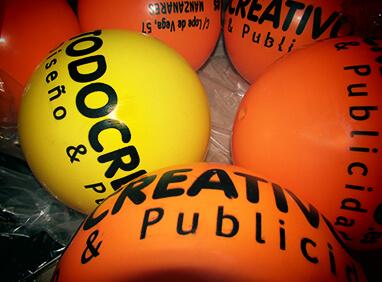 Balones serigrafiados