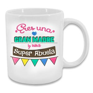 Taza - Super Madre y Abuela