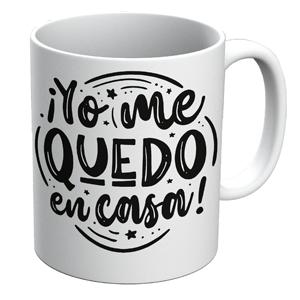 Taza - #yomequedoencasa