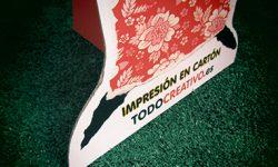 Detalle de Impresión en Cartón